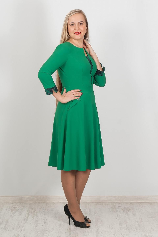 Платье с юбкой полусолнце доставка